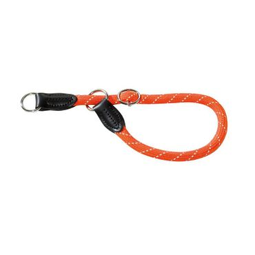 Hunter Dressurhalsung Freestyle Reflect 50/12 orange (max. 50cm)