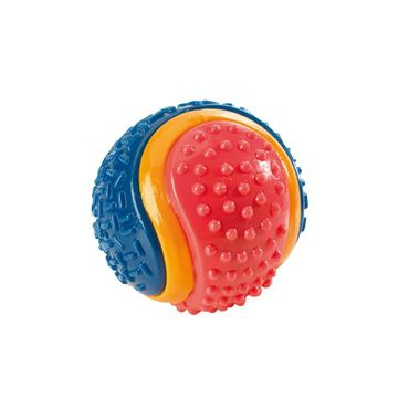 Hunter Hundespielzeug TPR Ball tricolor