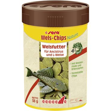 sera Wels-Chips 100 ml (38g) Welsfutter