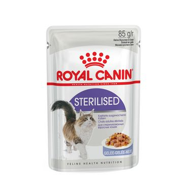 Royal Canin Feline Portionsbeutel Health Nutrition Sterilised in Gelee 85g