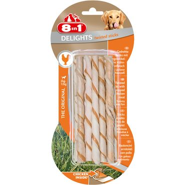 8in1 Delights Twisted Sticks 10 Stück