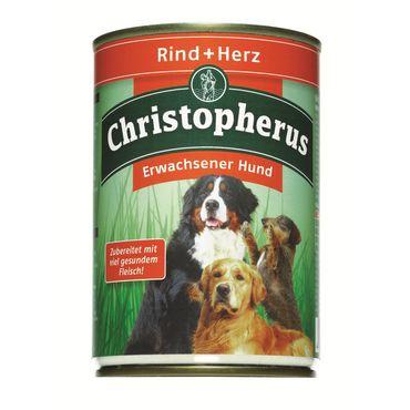 Christopherus Dog Dose Rind & Herz 400g – Bild 2