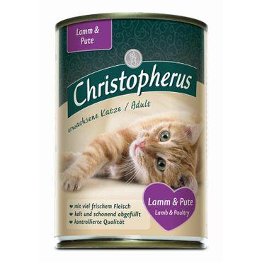 Christopherus Cat Dose Adult Lamm & Pute 400g – Bild 1