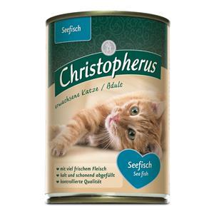 Christopherus Cat Dose Adult Seefisch 400g – Bild 2