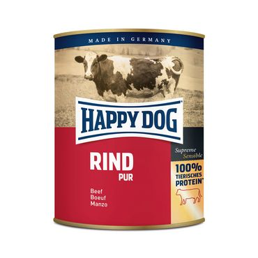Happy Dog Dose Rind Pur 800g – Bild 1