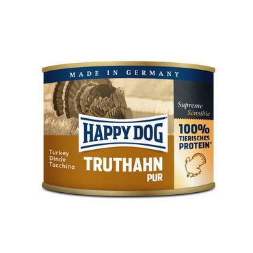 Happy Dog Dose Truthahn Pur 12x200g