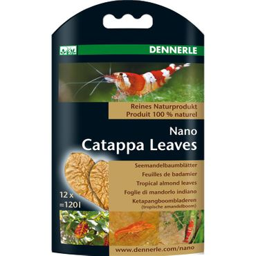 Dennerle Nano Catappa Leaves