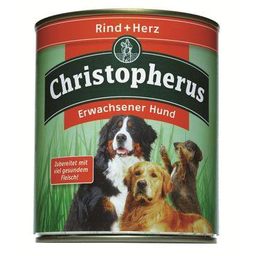 Christopherus Dog Dose Rind & Herz 800g – Bild 2