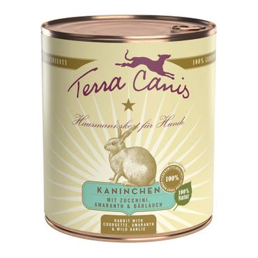 Terra Canis Dose classic Kaninchen 800g