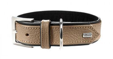 Hunter Hundehalsband Capri 35, stone 24-30 x 1,8cm