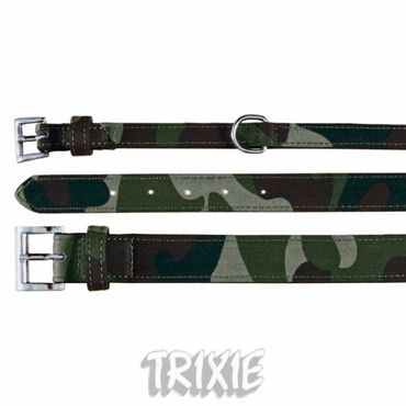 Hundehalsband, Military (M) 18mm, 37-45 cm