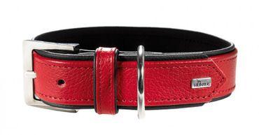 Hunter Hundehalsband Capri 40, rot 29-35cm x 1,8cm