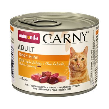 Animonda Cat Dose Carny Adult Rind & Huhn 6x200g