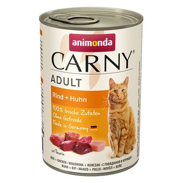 Animonda Cat Dose Carny Adult Rind & Huhn 6x400g