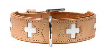 Hunter Hundehalsband Swiss 60 natur 47-54cm x 3,9cm