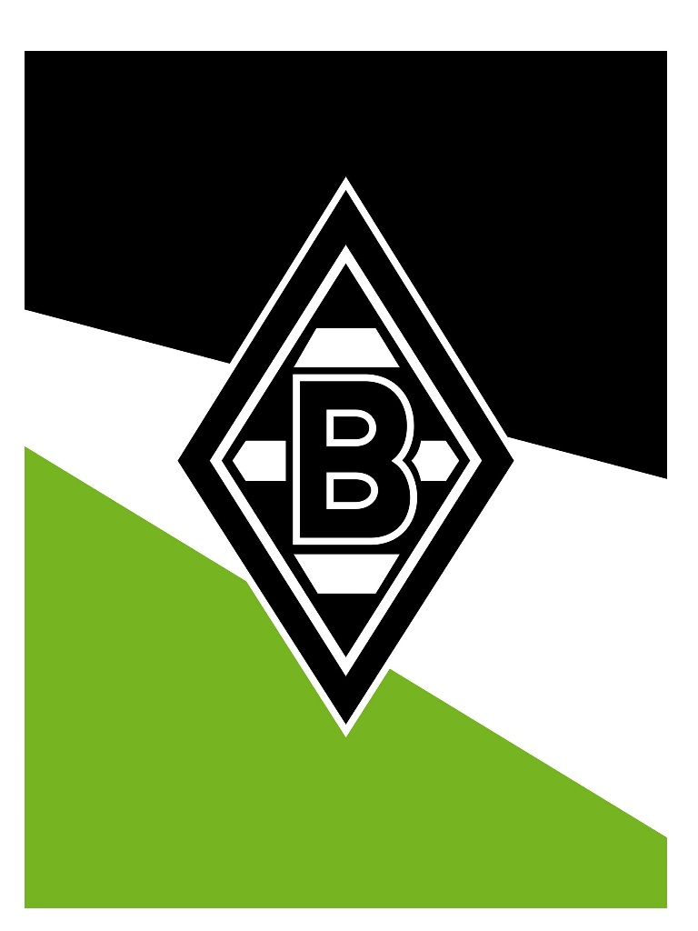 borussia m nchengladbach veloursdecke schr gstreifen fanartikel kuscheldecke ebay. Black Bedroom Furniture Sets. Home Design Ideas