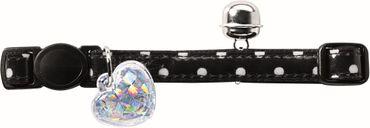Hunter Katzenhalsband Glossy Dot mit Sicherheitsverschluß und Glocke – Bild 1