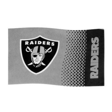 Oakland Raiders Fahne Logo, 150 x 90 cm