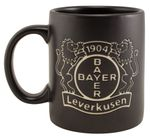 "Bayer 04 Leverkusen Kaffeebecher ""Black"" 001"