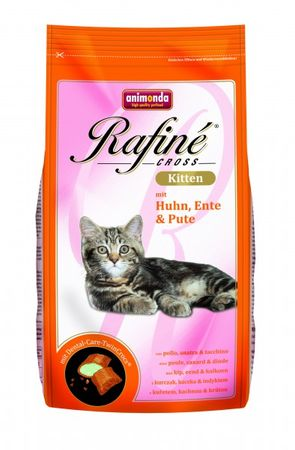 Animonda Cat Rafine Cross Kitten Huhn,Ente & Pute 400g