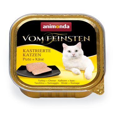 Animonda Cat Vom Feinsten Kastrierte Katzen Pute & Käse 100g – Bild 1