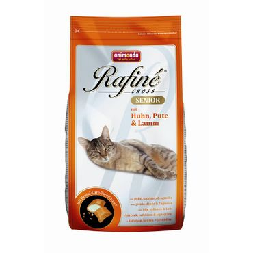 Animonda Cat Rafine Cross Senior Huhn,Pute & Lamm 400g