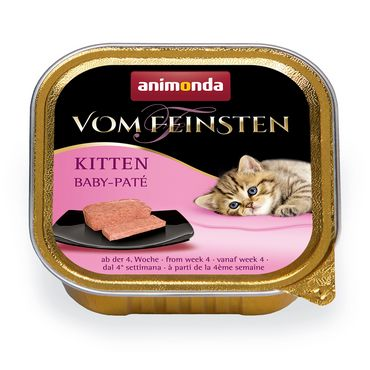 Animonda Cat Vom Feinsten Kitten Baby Paté 100g – Bild 2