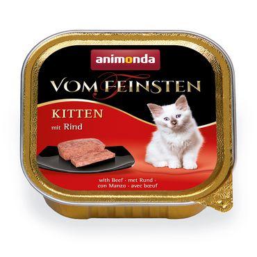 Animonda Cat Vom Feinsten Kitten mit Rind 100g – Bild 1