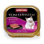 Animonda Cat Vom Feinsten Kitten mit Lamm 100g 001