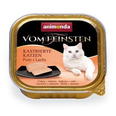 Animonda Cat Vom Feinsten Kastrat Pute & Lachs 100g