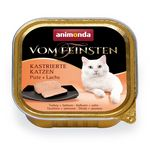 Animonda Cat Vom Feinsten Kastrat Pute & Lachs 100g 001