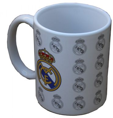 Real Madrid Kaffeebecher Logos