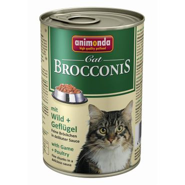 Animonda Cat Dose Brocconis Wild & Geflügel 400g