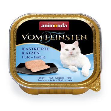 Animonda Cat Vom Feinsten Kastrierte Katzen Pute &Forelle 100g – Bild 1