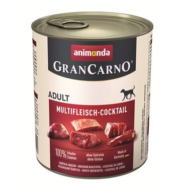 Animonda Dog Dose GranCarno Adult Multi - Fleischcocktail 800g – Bild 2