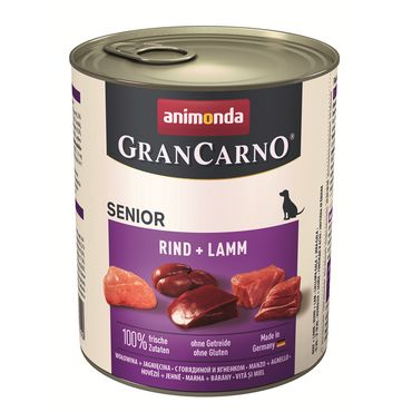 Animonda Dog Dose GranCarno Senior Rind & Lamm 800g