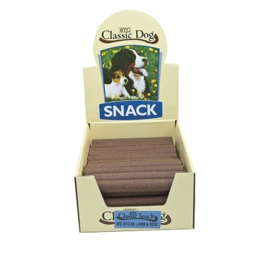 Classic Dog Snack Big Sticks mit Lamm & Reis