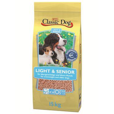 Classic Dog Light & Senior 15kg