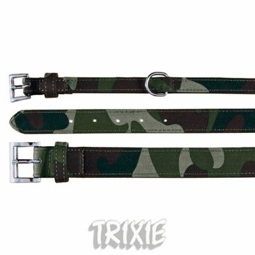 Hundehalsband, Military (XS-S) 13mm, 22-28 cm
