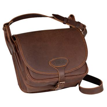 AKAH Förstertasche aus hochwertigem Büffelleder mit Pull-Up-Effekt im Jagdartikelshop Bandemer kaufen