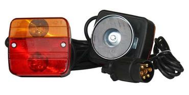 Beleuchtungsset für Wildträger Heckträger mit Magnet im Jagdartikelshop Bandemer kaufen