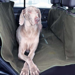 Hunde Autositz-Schonbezug für die Rücksitzbank