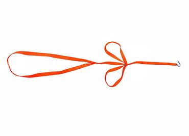 Dreizug Wildbergehilfe Wildbergegurt in leucht orange im Jagdartikelshop Bandemer kaufen