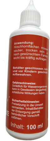 100 ml. original Hirschhorn-Beize St. Hubertus im Jagdartikelshop Bandemer kaufen