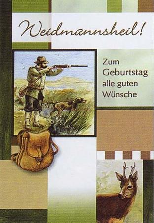 Geburtstagskarten im Jagdartikelshop Bandemer kaufen