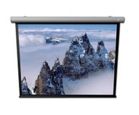 (4:3) DELUXX Cinema Elegance Lightline Motorleinwand 210 x 160 cm