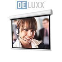 (4:3) DELUXX Professional  Motorleinwand 203 x 152 cm