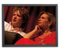 (16:10) DELUXX Rahmenleinwand Cinema Professional Frame Homescreen 240 x 150 cm (22351)