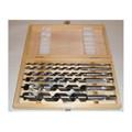 6 Stück Holzbohrer Balkenbohrer Schlangenbohrer 6 bis 20 x 230 mm lang Bild 3