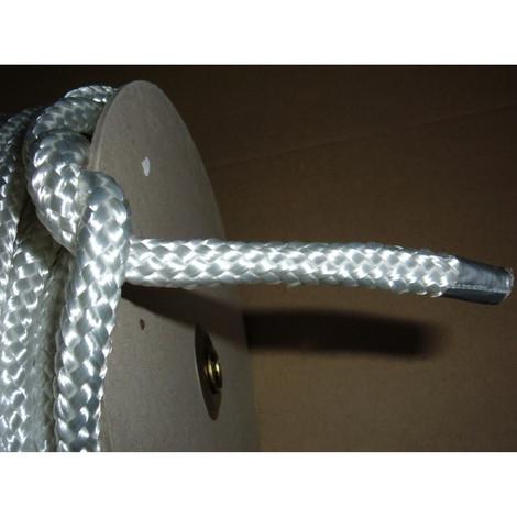 Seil  6 mm 100 m lang Flechtleine Flechtschnur Schnur Tau PES geflochten 627 kg